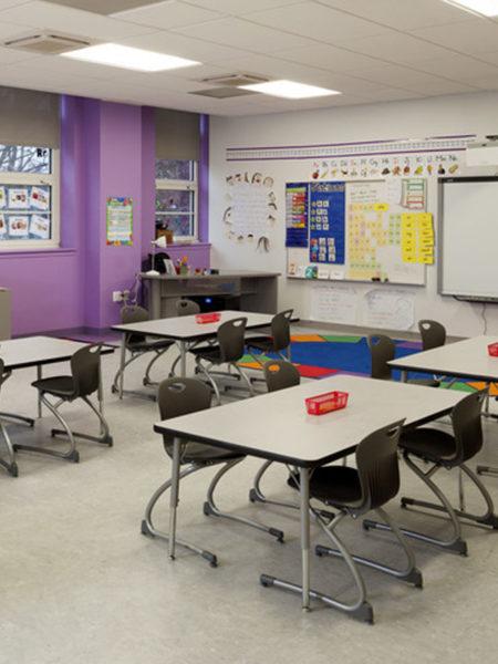 Payne Elementary School Classroom