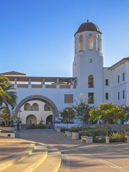 Conrad Prebys Aztec Student Union Entrance