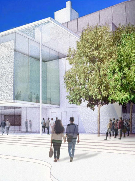 Sacremento Community Center Theatre design front