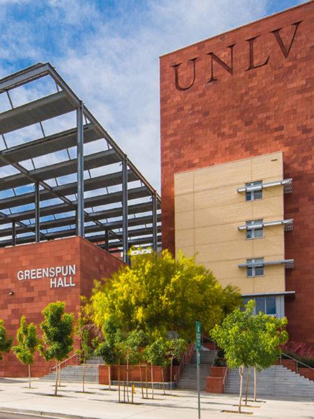 Greenspun College of Urban Affairs Front