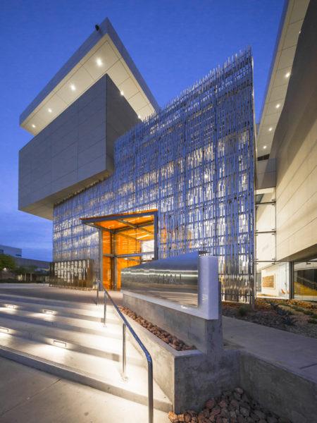 Harrah College of Hospitality Exterior Night