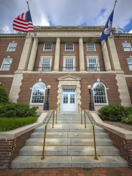 Martin V.B. Bostetter Federal Courthouse Front Entrance