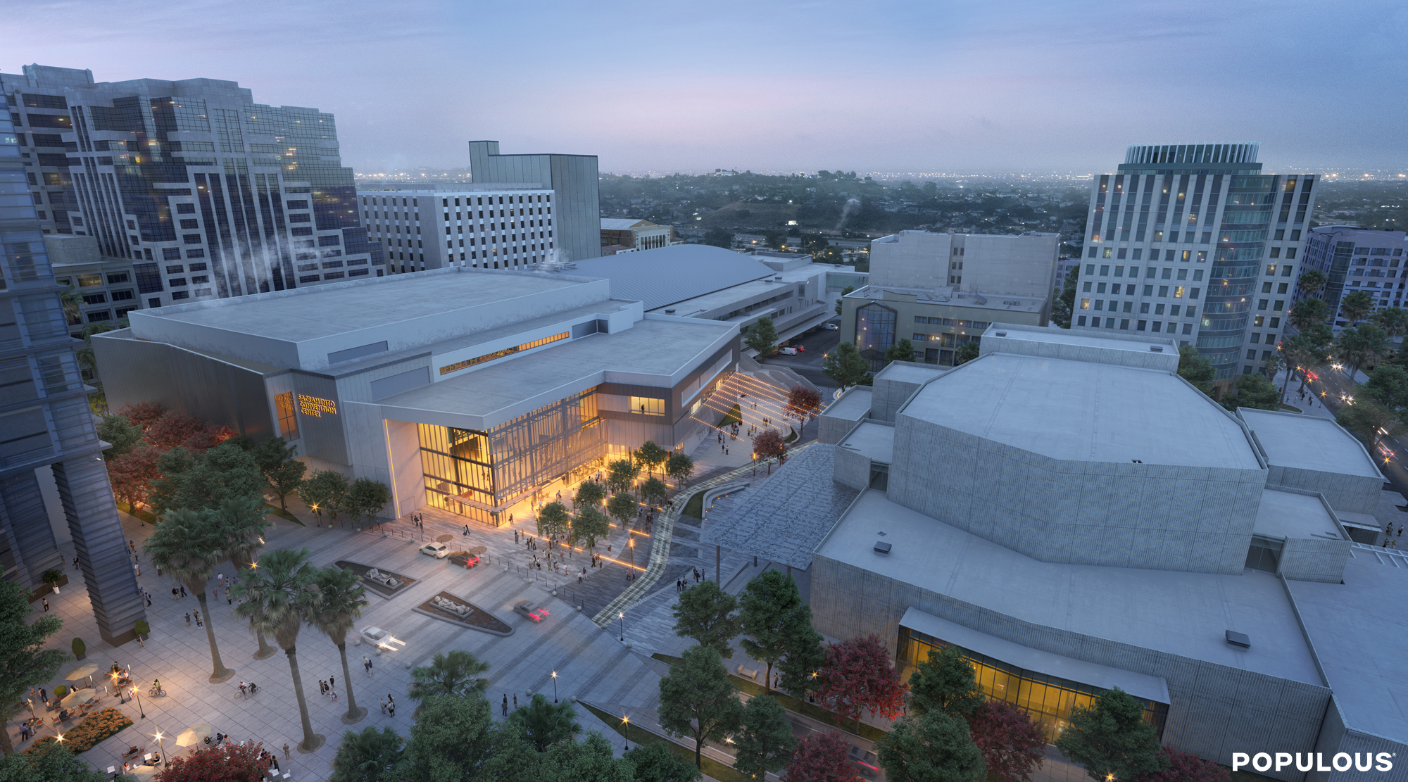 O'Connor awarded the City of Sacramento Convention Center Renovation & Expansion Project