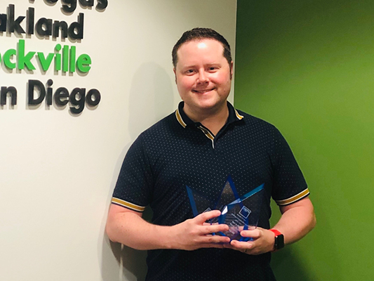 OCMI's Marketing/BD Team brings home six Society for Marketing Professional Services (SMPS) Awards