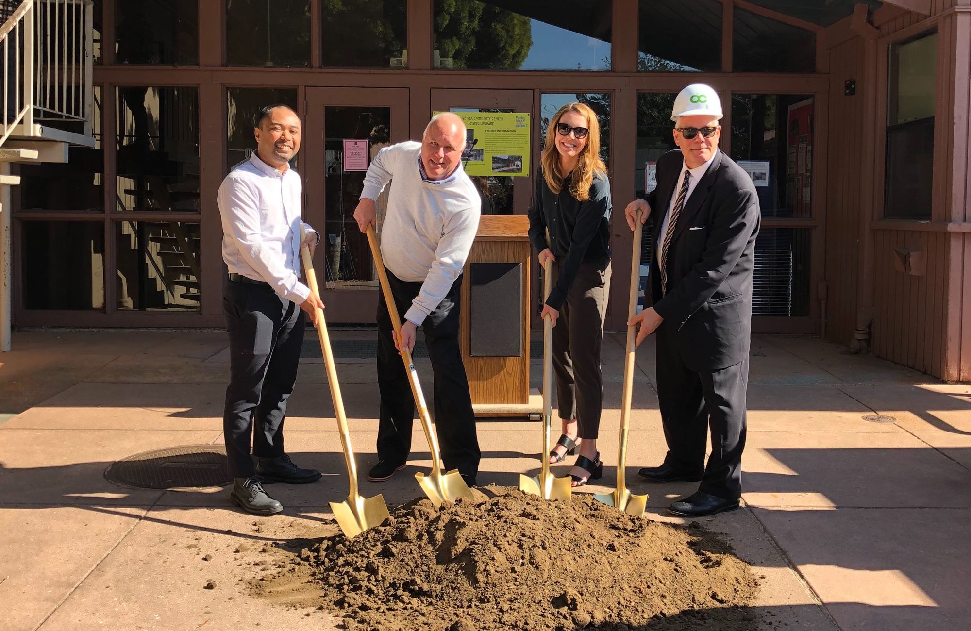 City of Berkeley Live Oak Community Center Groundbreaking