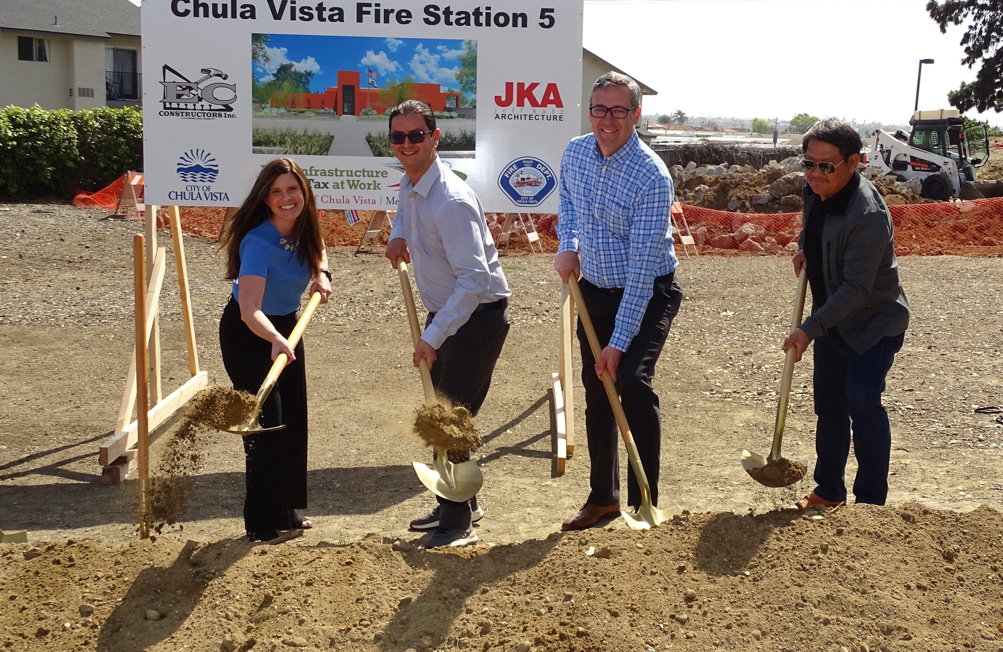 OCMI to represent the City of Chula Vista during construction of Fire Station #5